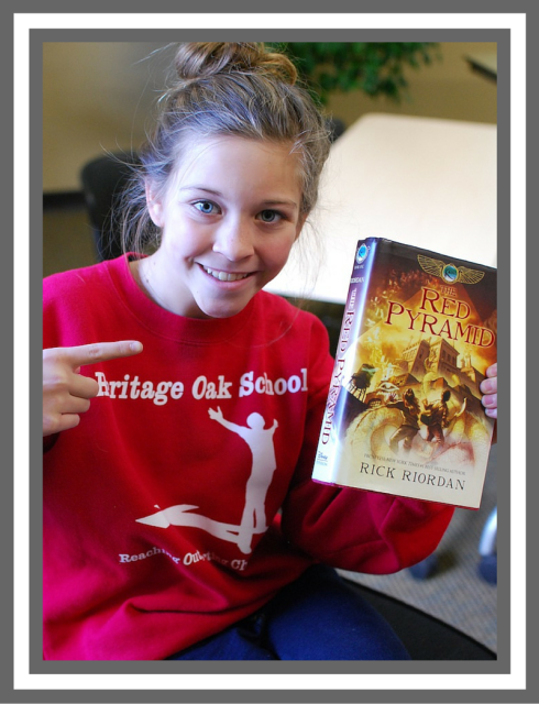 book report the red pyramid